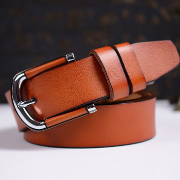Solid Belts For Women 1470