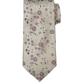 All Silk Floral Handmade Tie Monkey Suits