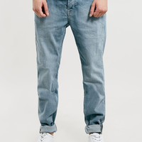 LIGHT POWDER BLUE STRETCH SKINNY JEANS - Stretch Skinny Jeans - Clothing - TOPMAN USA