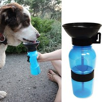 On the Go Dog Water Bowl - No Spill Design, BPA FREE
