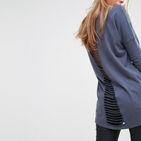 Only Ladder Back Tunic Top
