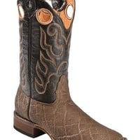 Tanner Mark Boots - Elephant Print Cowboy Boots