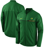 Men's Nike Apple Green Oregon Ducks 2016 Sideline Elite Hybrid Performance Jacket