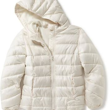 Old Navy Girls Frost Free Hooded Jacket