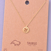 """Taurus"" Necklace"