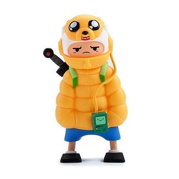 Adventure Time Puff Jake N Lil Finn Med Figure