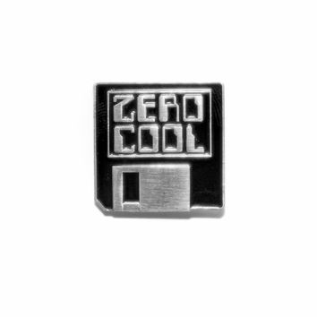 Zero Cool Lapel Pin