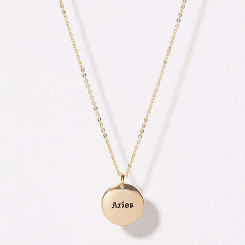Aries Pendant Necklace | LOFT