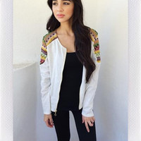 Alexandria Jacket - Cream from shopoceansoul
