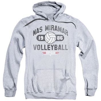 Top Gun - Nas Miramar Volleyball Adult Pull Over Hoodie