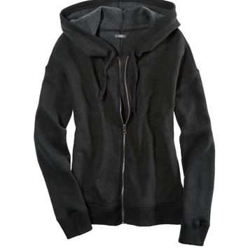 AERIE WARM & PLUSH HOODED SWEATSHIRT