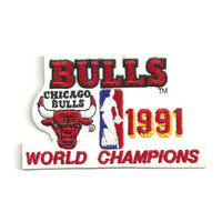Logo Patch - Chicago Bulls 1991 Champions