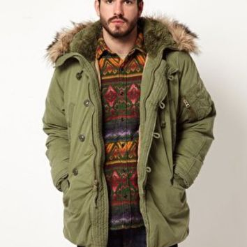 Denim & Supply Ralph Lauren Army Parka at asos.com