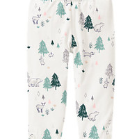 Forest Print Leggings