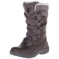 Timberland Womens Mount Hope Leather Mid-Calf Winter Boots