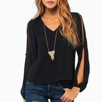 Slightly Showing Blouse $36