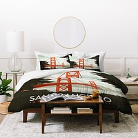 Anderson Design Group San Francisco Duvet Cover