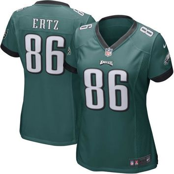 Women's Philadelphia Eagles Zach Ertz Nike Midnight Green Game Jersey