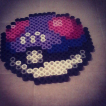 Pokemon Master ball perler bead art