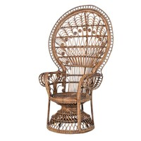 NEW! Peacock Rattan Chair