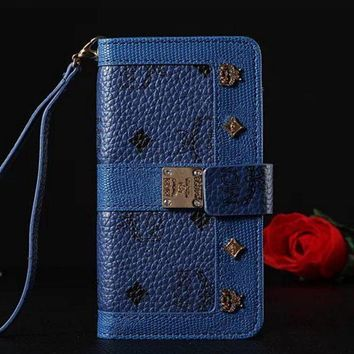 MCM Fashion iPhone Phone Cover Case For iphone 6 6s 6plus 6s-plus 7 7plus hard shell Leather Case-3