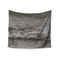 "Angie Turner ""Beach Bubbles"" Blue Coastal Wall Tapestry"