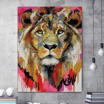 Picture poster wall art picture canvas painting animal poster Picture wall art home decration Decorative Picture for Living Room