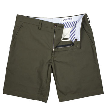 Foster - Ripstop Olive Shorts