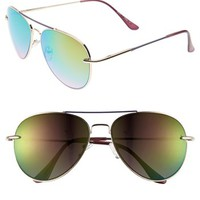 Topshop 'The Collection Starring Kate Bosworth' Aviator Sunglasses | Nordstrom