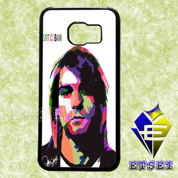 kurt cobain nirvana wpap case For Samsung Galaxy S3/S4/S5/S6 Regular/S6 Edge and Samsung Note 3/Note 4 case