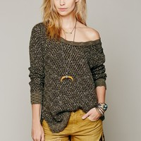 Free People Honeycomb Mix Pullover