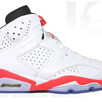 Air Jordan Men's Retro 6 XI White Infrared 2014