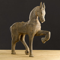 Hand-Carved Horse