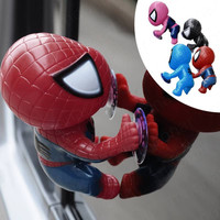 16CM for Spider Man Toy Climbing Spiderman Window Sucker for Spider-Man Doll Car Home Interior Decoration 4 color #45