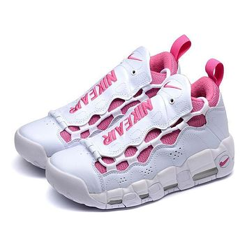 Nike Air More Money Uptempo QS ¡°White Pink¡± Sneakers