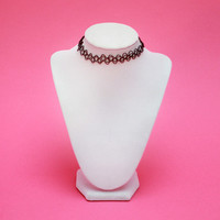 Walking Into Spiderwebs Choker (more colors)