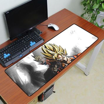 Dragon Ball mouse pad 900x300x3mm pad to mouse Custom notbook computer mousepad anime gaming padmouse gamer keyboard mouse mat