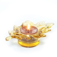 Brilliant Leaves : Tea Light Candle Holder : Yankee Candle