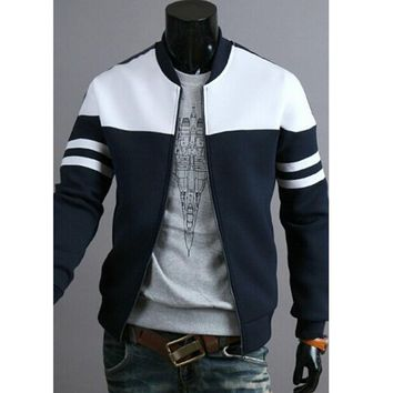 New Male Man Spring Autumn Jackets