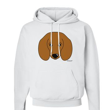Cute Doxie Dachshund Dog Hoodie Sweatshirt  by TooLoud