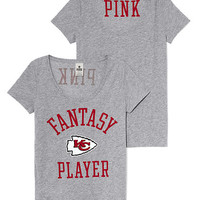 Kansas City Chiefs Scoopneck Tee - PINK - Victoria's Secret