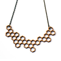 double honey necklace