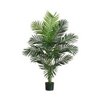 Silk Palm Tree Realistic Artificial Tropical Indoor Outdoor Decor Office Home