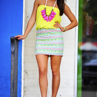 Summertime Fine Dress: Lemon | Hope's