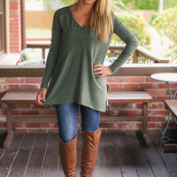 Feeling Beautiful Sweater - Olive