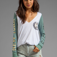 Rebel Yell NY Marathon Tee in Seafoam from REVOLVEclothing.com