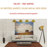 15% OFF + FREE SHIPPING ON TAPESTRIES, BLANKETS, PILLOWS AND ALL HOME DECOR! by Katayoon Photography & Design | Society6