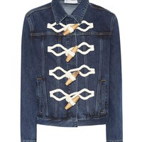 Toggle denim jacket
