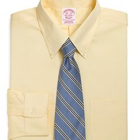 Classic All-Cotton Traditional Fit Button-Down Dress Shirt - Brooks Brothers