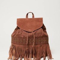 AEO Studded Canvas Backpack | American Eagle Outfitters